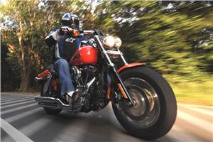 Harley Davidson Fat Bob, test ride, review