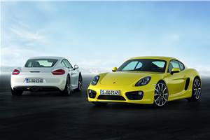 New Porsche Cayman unveiled