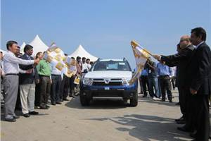 Renault commences Duster exports
