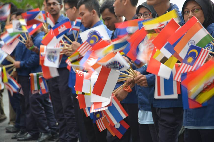 Everywhere the ASEAN Rally went, it was greeted by enthus...