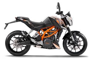 KTM 390 Duke variants planned