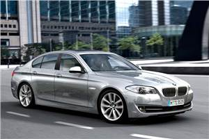 Updated BMW 5-series coming next year