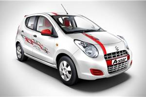 Maruti A-star Aktiv launched
