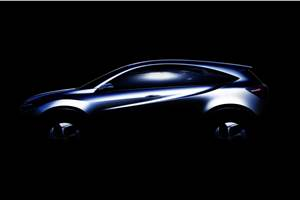 New Honda compact SUV teased