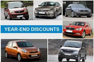Carmakers dole out huge year-end discounts