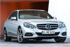 Refreshed Mercedes E-Class revealed