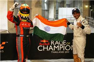 Narain and Karun win ROC Asia