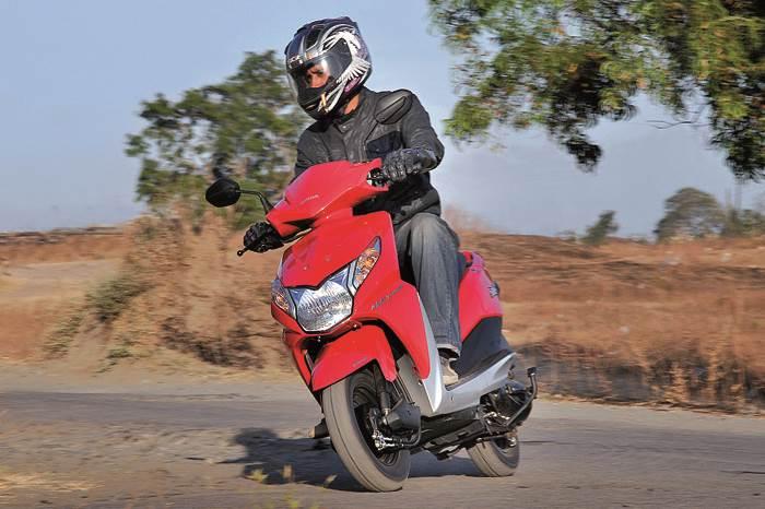 Honda Dio (First report)