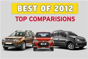 Best of 2012: Top 10 car comparisons