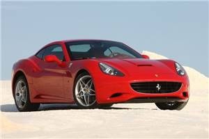 Turbo power for next Ferrari California