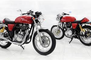 Royal Enfield Café Racer previewed