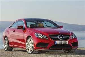 Refreshed Mercedes E-class coupé and cabriolet unveiled