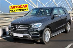 Mercedes ML 250 CDI review, test drive