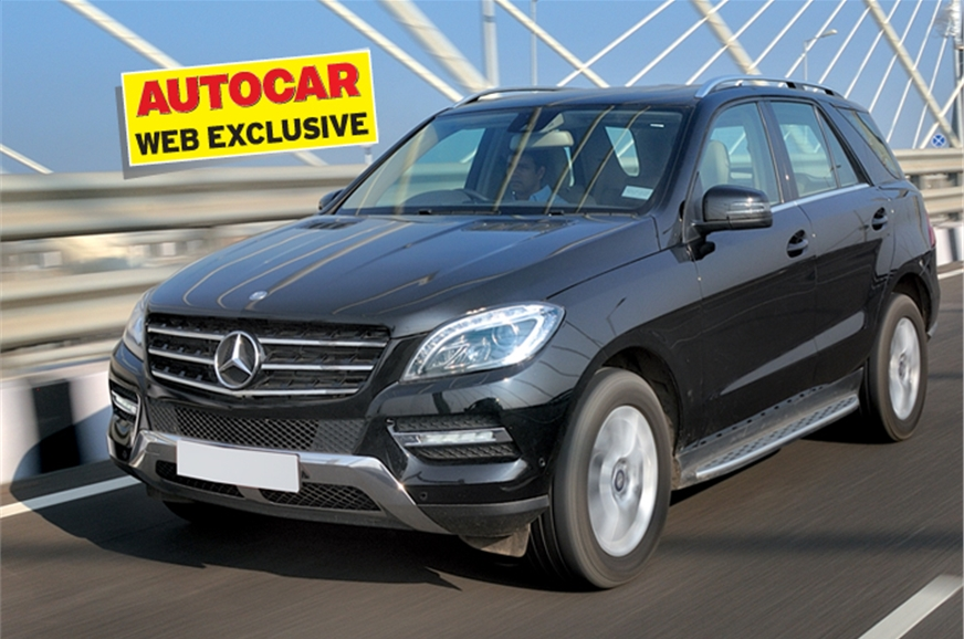 Mercedes ml 250 cdi review test drive autocar india for Mercedes benz ml class 350 cdi price in india