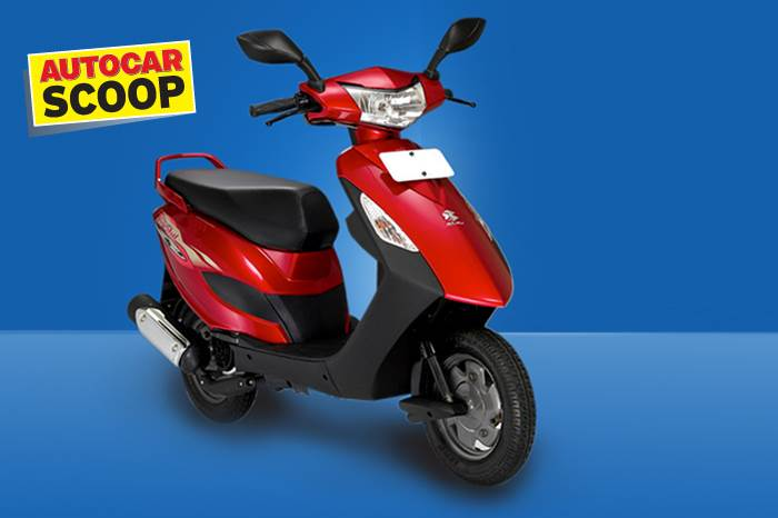 New Bajaj scooter to be their first since the Kristal seen here.