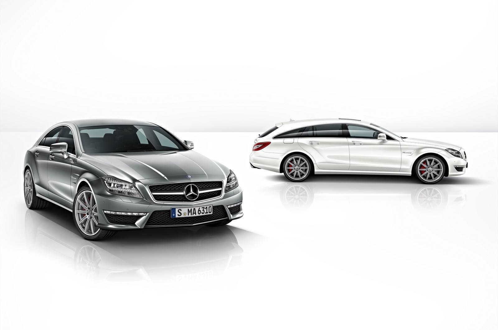 Mercedes updates CLS AMG range