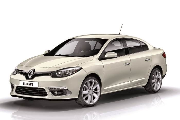 Updated Renault Fluence coming soon