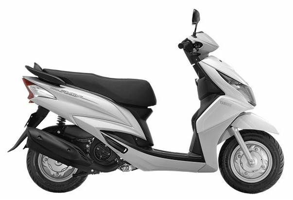 Yamaha Ray now available in white