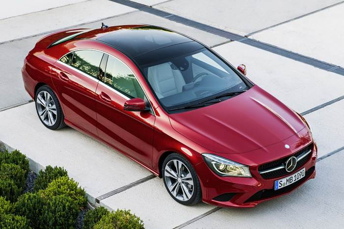 Mercedes CLA compact saloon revealed