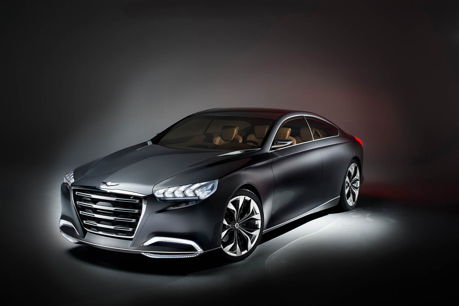 Hyundai shows HCD-14 Genesis concept