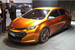 Toyota Corolla Furia concept unveiled