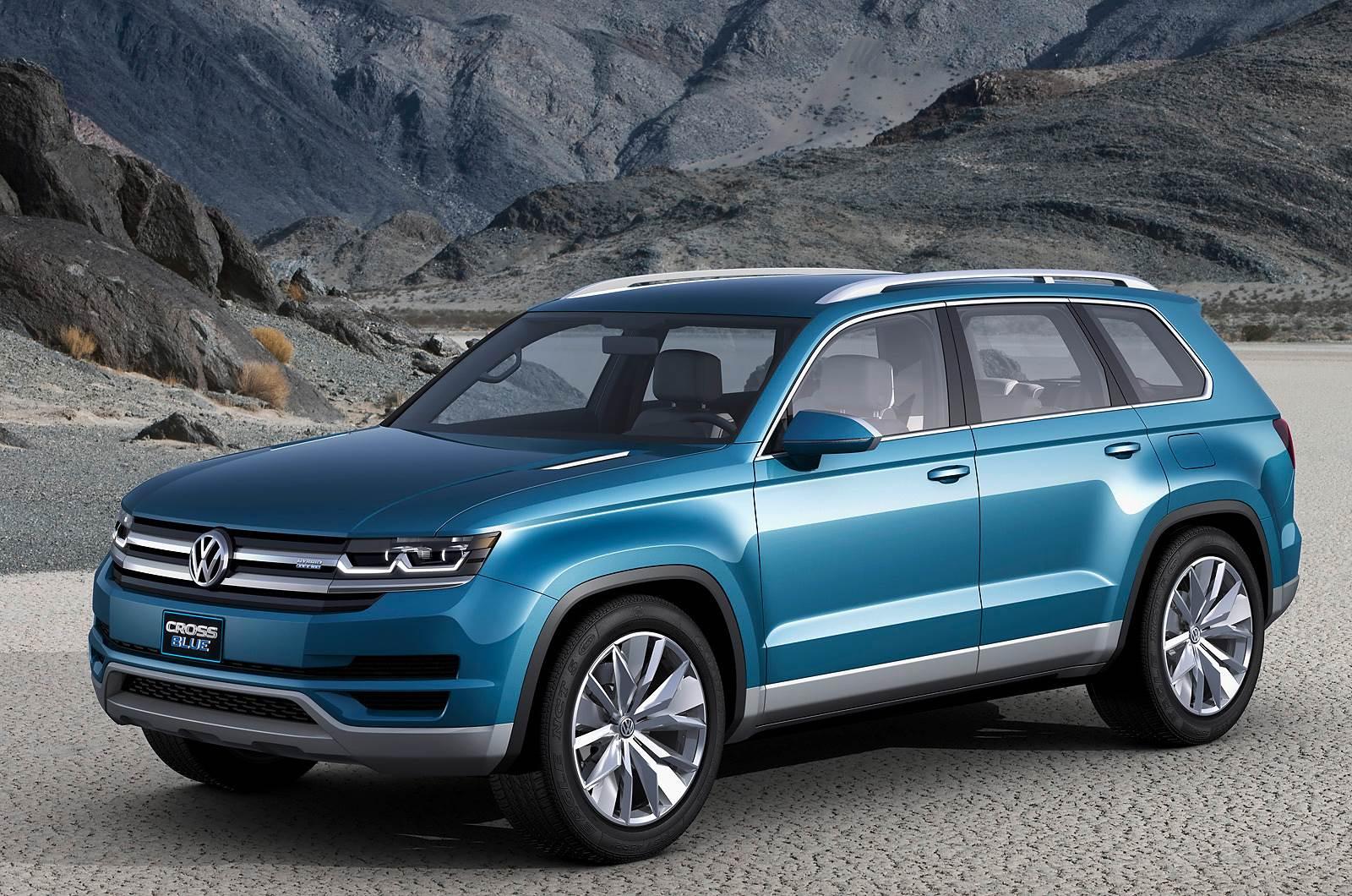 Volkswagen unveils CrossBlue SUV concept