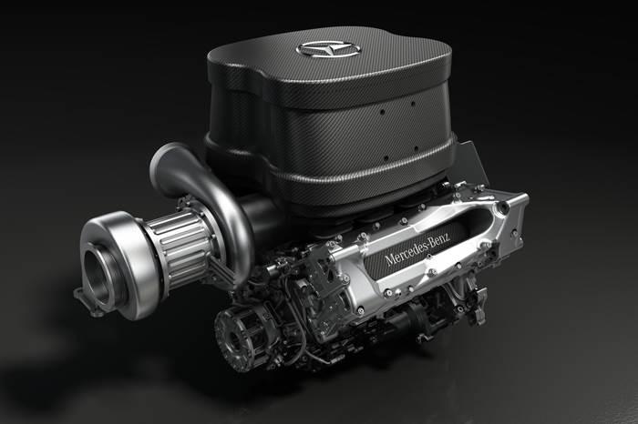 Mercedes unveils 2014 F1 engine