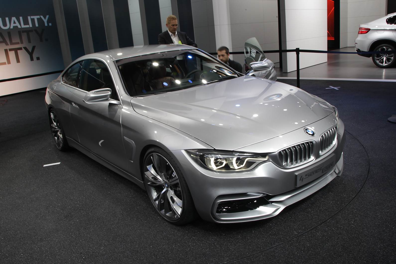 BMW 4-series Coupe concept showcased