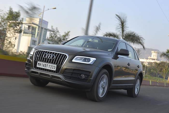 Audi Q5 facelift review, test drive