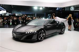 New Honda NSX concept revealed