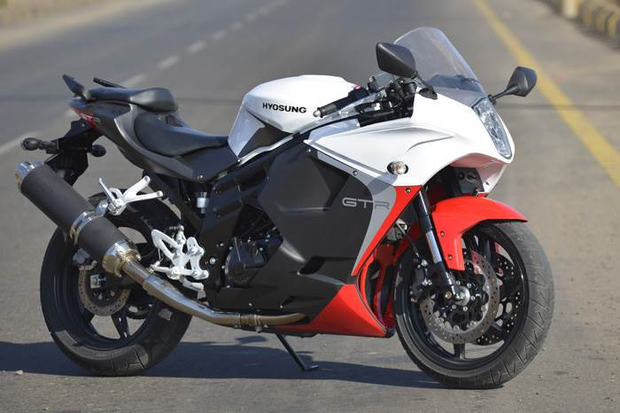 Hyosung Gt650r Review Test Ride Autocar India