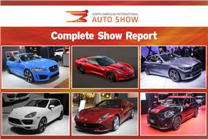 Detroit Motor Show 2013: Complete show report