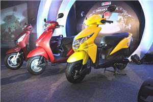 Honda rolls out 2013 Activa, Aviator and Dio