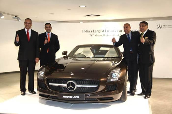 Mercedes opens new Delhi outlet