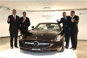 Mercedes opens new Delhi outlet