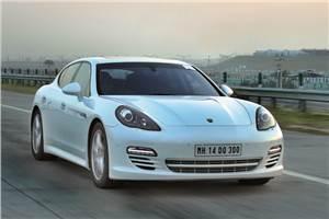 Porsche Panamera Diesel review, test drive