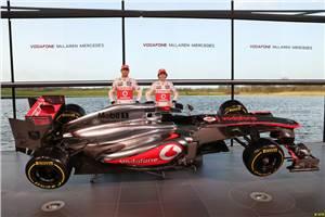 McLaren unveils 2013 challenger MP4-28