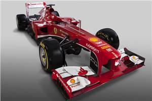 Ferrari unveils the F138 Formula 1 car