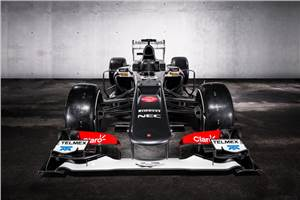 Sauber launches the 2013 C32
