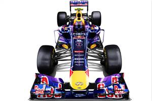Red Bull launches its 2013 car, the RB9