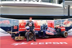 Toro Rosso reveals 2013 car at Jerez