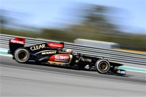 Jerez testing: Romain Grosjean leads day two for Lotus