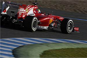Jerez: Massa stays ahead on day three