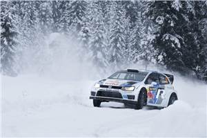 Ogier claims VW's first WRC win
