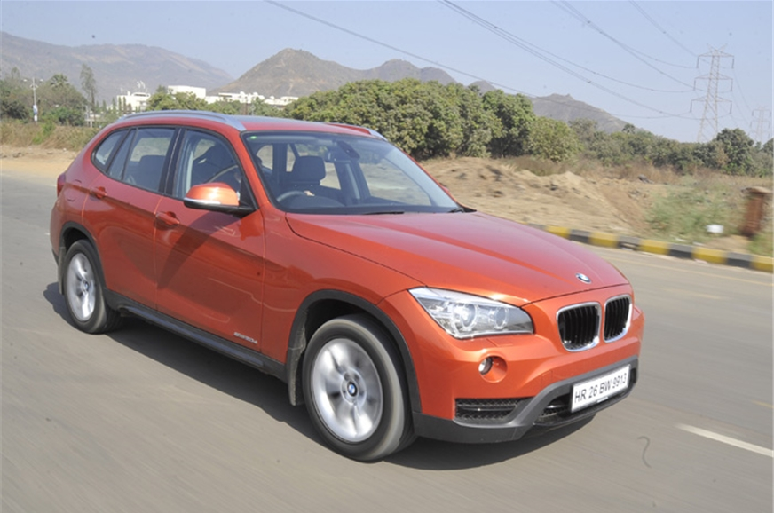 bmw x1 facelift review test drive and video autocar india. Black Bedroom Furniture Sets. Home Design Ideas