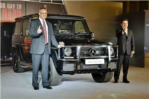 Mercedes G63 AMG launched