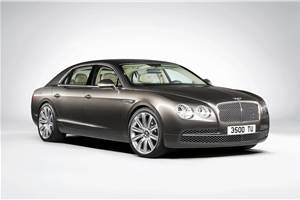 New Bentley Flying Spur revealed