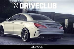Merc CLA 45 AMG unveiled on PS4