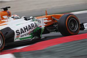 Adrian Sutil returns to Sahara Force India