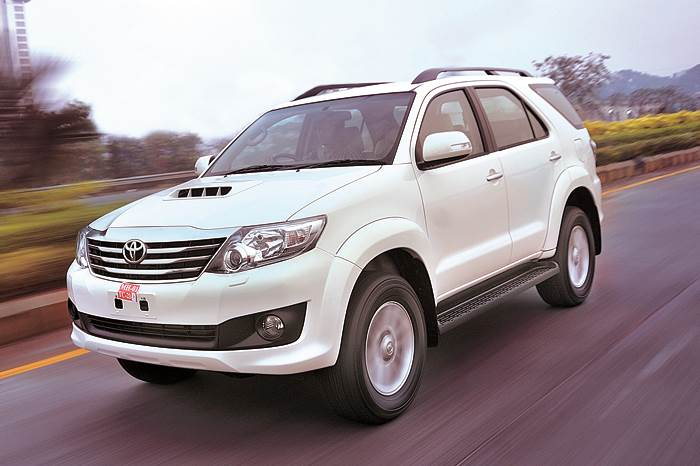 Toyota Fortuner 5-speed auto review, test drive